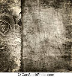Viejos antecedentes de papel roto. Textura