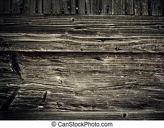 Viejos tablones de madera. Abstracción de fondo grungy