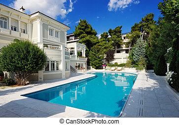 Villa lujosa con piscina