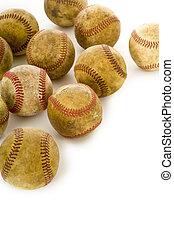 Vintage, béisbols antiguos