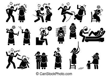 Violencia íntima durante el embarazo.