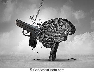 Violencia de armas y salud mental