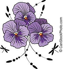 Violet maricas