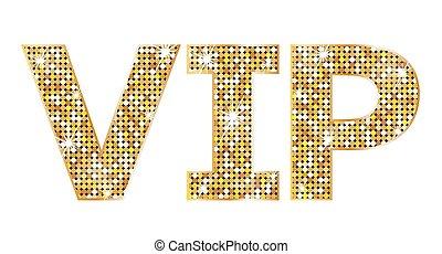 vip, muy, -, persona, icono, importante