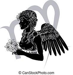 Virgo zodiaco signo de astrología