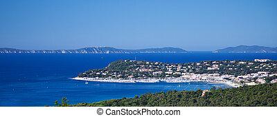 vista, cavalaire-sur-mer, encima