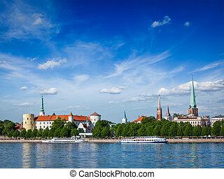 Vista de riga, Letonia