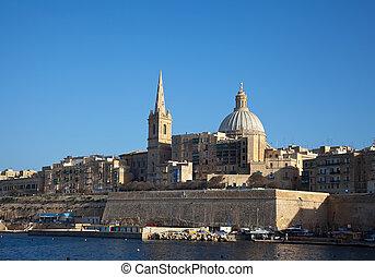 Vista de Valletta