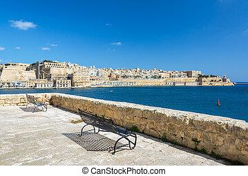 Vista desde Senglea, Malta