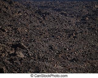 volcánico, tierra