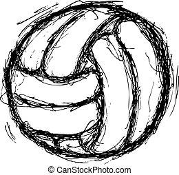 voleibol, grunge