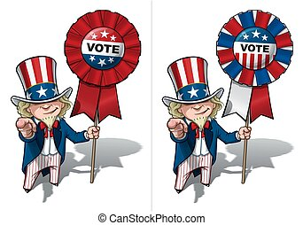 voto, sam, necesidad, usted, tío