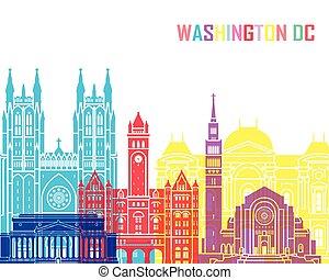 Washington DC V2 skyline pop