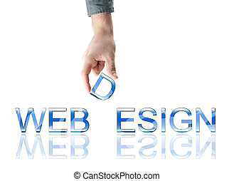 webdesign, palabra