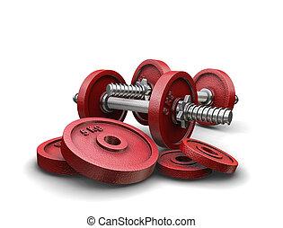 weightlifting, pesas
