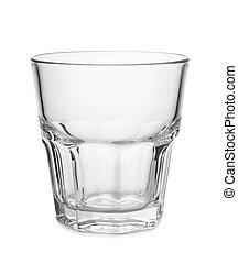 whisky, moda, viejo, vidrio vacío