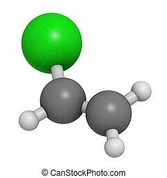(white), (green)., convencional, coding:, edificio, polyvinyl, color, cloruro, cloro, plástico, esferas, (grey), (pvc), representado, block., carbón, átomos, hidrógeno, cloruro, vinilo