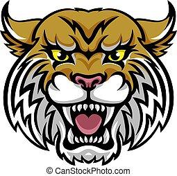 wildcat, mascota, bobcat
