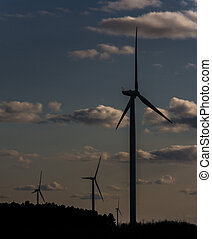 Windmill al final del día