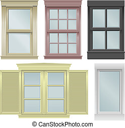 windows, cinco