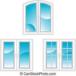 windows, plástico