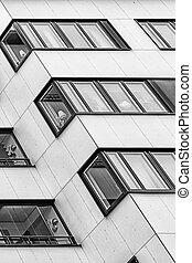 windows, plano de fondo, apartamento, resumen