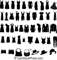 womens, ropa, misceláneo, silho