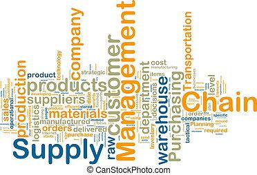 wordcloud, dirección, cadena, suministro