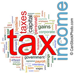 wordcloud, renta de impuesto