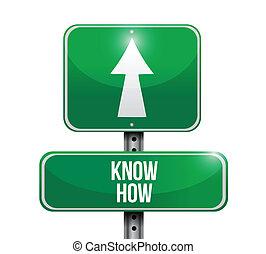 Ya sabes cómo se dibuja el letrero de carretera