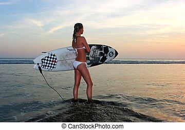 yendo, surf?
