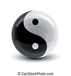 yin, pelota, yang