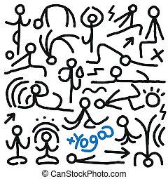 Yoga garabatos