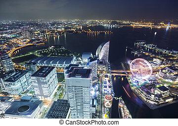 Yokohama, punto de vista superior