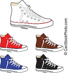 zapatillas, (gumshoes)
