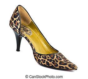 Zapato de tacón alto