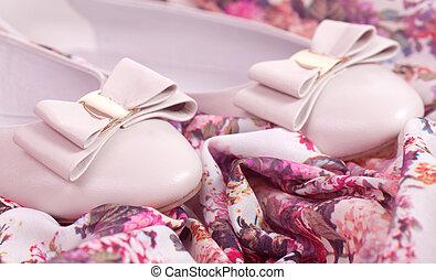 Zapatos cómodos en flor