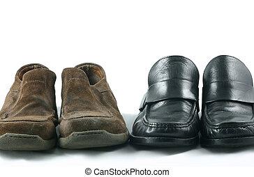 Zapatos casuales y de trabajo