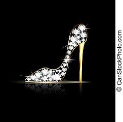 Zapatos de cadena