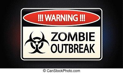 zombi, imagen