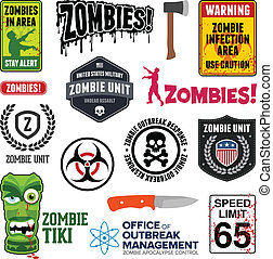 zombi, señales